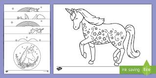 The program contains more than four hundred images, among. Unicorn Coloring Pages Coloring Sheet Teacher Made
