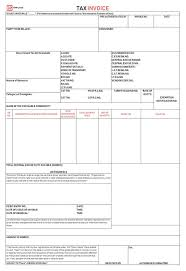 Free Invoice Form Template Awesome Invoice Template Free Blank Invoice Template Word Excel Format