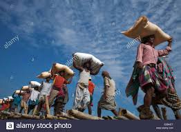 labor in worker daily wages sky blue autumn south asia labor in worker daily wages sky blue