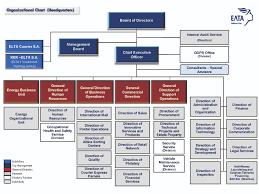 Organizational Chart Of A Company Elta Company Organizational Structure Organization Chart