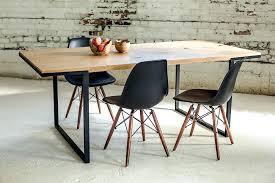 white oak dining table modern industrial white oak dining table minimalist design coastal beach white oak