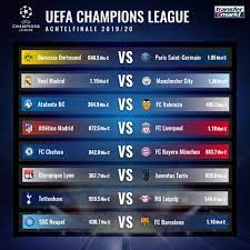 The ny west champions conference is a qualifying league for the us youth soccer national championship series for nyswysa. Champions League Achtelfinale Bayern Munchen Gegen Chelsea Bvb Trifft Auf Psg Transfermarkt