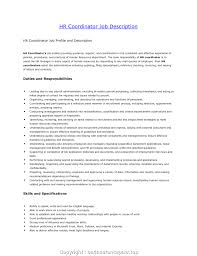 resume for human resources manager newest hr job description for resume human resources job description