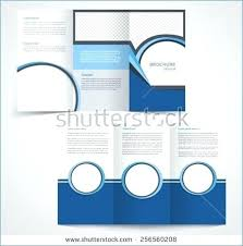 6 Sided Brochure Template One Sided Brochure Template Single Page Flyer Free Double Tri Fold