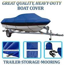 blue boat cover fits bayliner capri