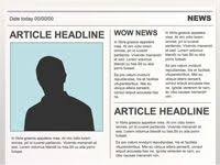 Create Newspaper Article Template Newspaper Article Templates Could I Do On My Website Highlight