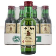jameson original irish whiskey 12x 5cl miniature pack