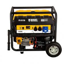 <b>Генератор бензиновый Denzel PS</b> 55 EA 946874, 4Т, 5500 Вт ...