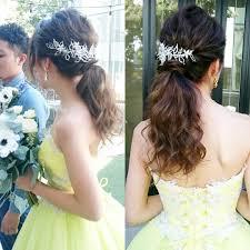 Wedding Hairstyles ウェディング ヘアスタイル Bridalgown