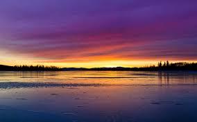 lake sunset. sunset lake hd image download. ««