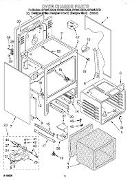 Whirlpool gold refrigerator parts diagram oven chassis expert