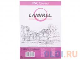 <b>Обложки Lamirel Transparent A4</b>, PVC, прозрачные, 150мкм, 100шт