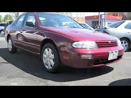 1996 Nissan Altima After Complete Detailing