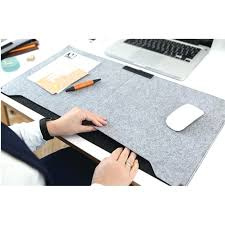 thumbnails of fashion computer peripherals desk mat modern table felt office desk mouse pad holder wool felt laptop cases cushion mouse pads in mouse pads