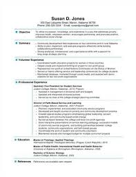1 Page Resume Template Unique Resume One Page Resume Templates
