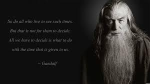 Gandalf Wallpaper Quote Lotr