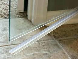flawless shower door sweeps x0015561 glass shower door sweep canada