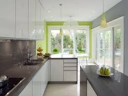 gray green paint for cabinets. this color scheme of white, grey, and bright green differentiates kitchen from others gray paint for cabinets