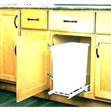 double wooden trash bin double wooden trash bin wood kitchen trash container wood kitchen trash container