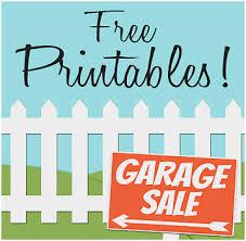 Community Garage Sale Ideas Pleasant Funky Garage Sale Templates