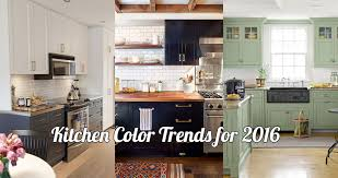 Nice Kitchen Color Trends For 2016 Gallery