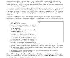 Resume Template. How To Format A Resume In Word - Free Career Resume ...