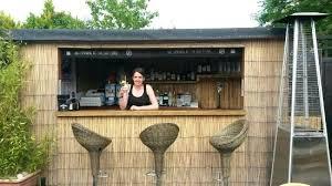 building an outside bar brewery bar outside bar and landlady making bar stools