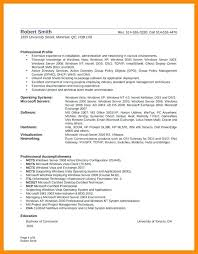 Ltc Administrator Sample Resume Unique System Administrator Resume Linux System Administrator Resume It