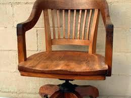 desk chair wood. Antique Wooden Desk Office Chair Wood Decor Design For Vintage 7 Old Swivel