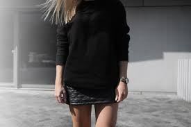 Quilted Leather Skirt | Tao of Sophia & quilted-leather-skirt_white-converse_casual-outfit  nick-cabana-watch_quilted-leather_all-black-outfit Adamdwight.com