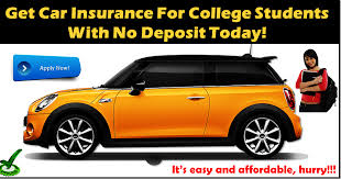 college student car insurance quotes with affordable rates