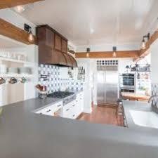 white country galley kitchen. Unique Kitchen White Country Kitchen With Exposed Beam Galley P