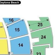 Peabody Daytona Beach Seating Chart Travel Guide