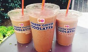 coffee coolatta 23 mg dunkin donuts