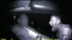 Image result for a dashcam showing an alleged assault on a taxi driver went viral on social media