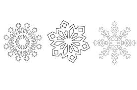 Blank Snowflake Template How To Make Paper Snowflakes Get Our Free Templates