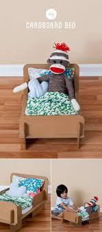 7. A bed that won't hurt your sock monkey's back.