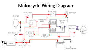 wrg 8679 motorcycle wire diagram motorcycle wiring diagram poster