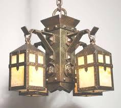 arts and crafts chandelier unusual antique arts u crafts chandelier with heads u in arts and arts and crafts chandelier
