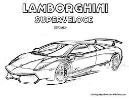 Coloriage De Voiture Lamborghini L L L L L L L L L L L