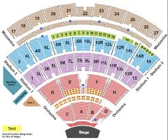 Klipsch Music Center Seating Chart With Seat Numbers Best
