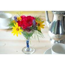 demand media create inspiring fl arrangements by utilizing unusual vases such as martini glasses glass vase