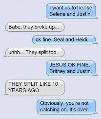 Thats one way to break up via text | Funny Dirty Adult Jokes ... via Relatably.com