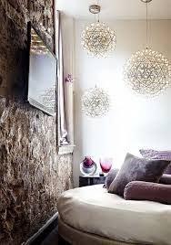 Pendant Lighting Living Room Contemporary Apartment In An Old Building In Toronto