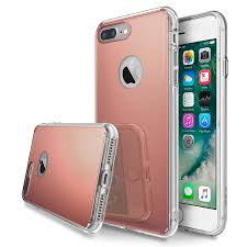 mirror iphone 7 plus case. rearth ringke fusion mirror iphone 7 plus case - rose gold iphone