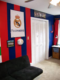 Soccer Bedroom Decorations Real Madrid Bedroom Beautiful Real Madrid And The Ojays