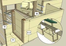 nichoir pour poulailler en palettes