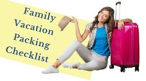Must Have Travel Packing List For A Perfect Family Trip