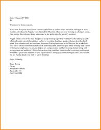 Job Recommendation Letter Sample For A Friend Recommendation Letter For A Friend Template Sample Job