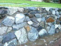 how to build a natural stone retaining wall how to build a stone retaining wall without how to build a natural stone retaining wall